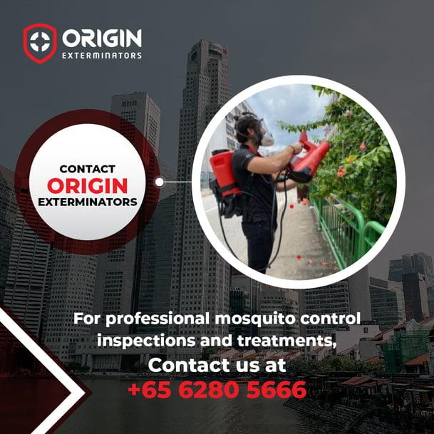 Why Choose ORIGIN for Mosquito Control Service?
