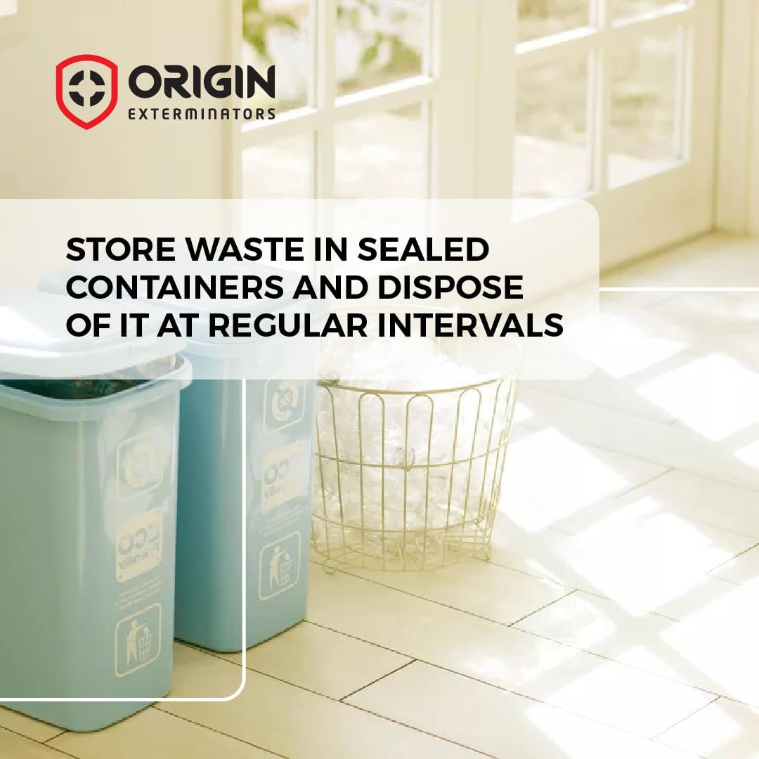 Dispose of Garbage Properly