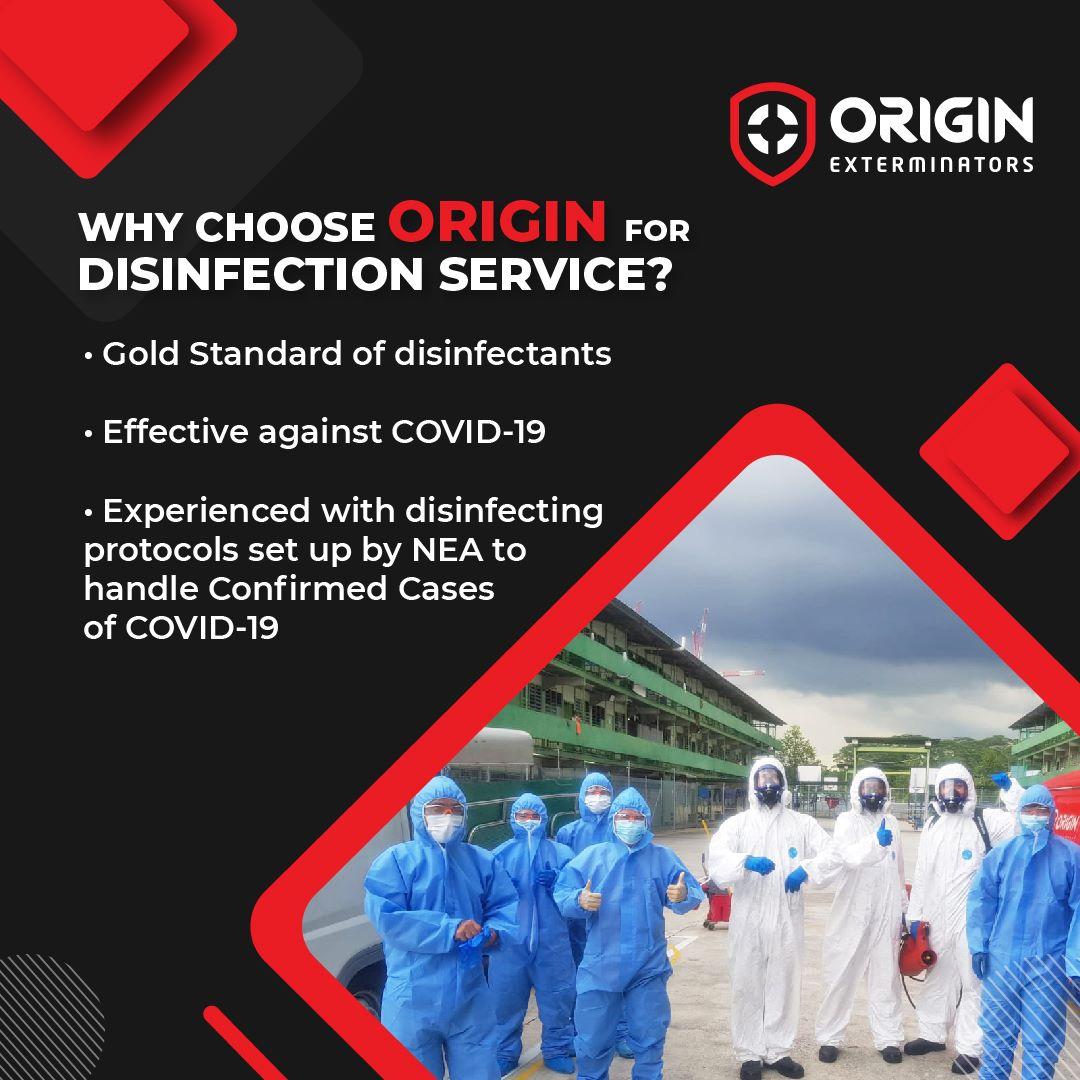 ORIGIN Disinfection Service Singapore