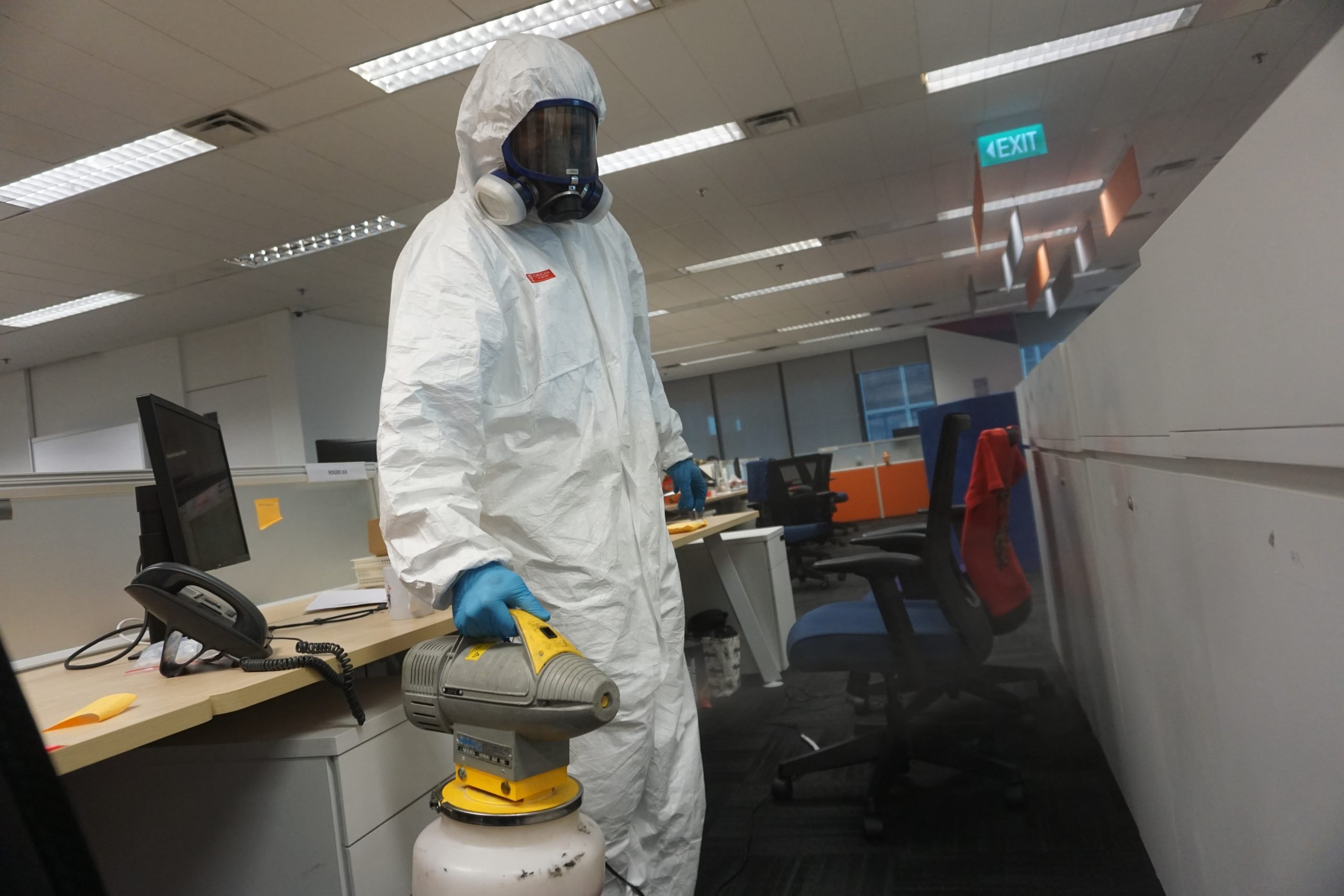 Environmental Cleaning and Disinfection: Standard Precautions for Businesses